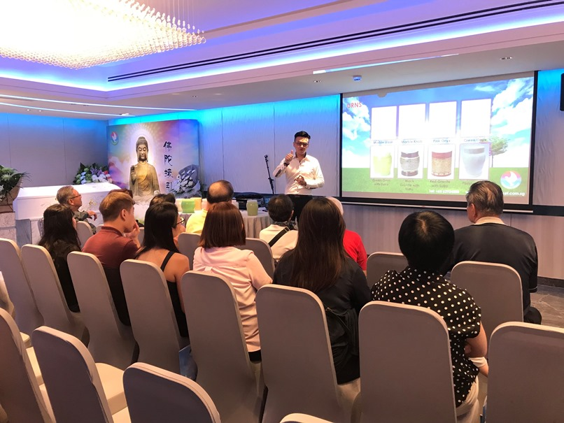 Sharing Talk @ Singapore Casket