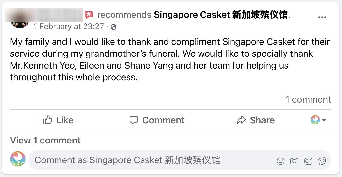 Singapore Casket